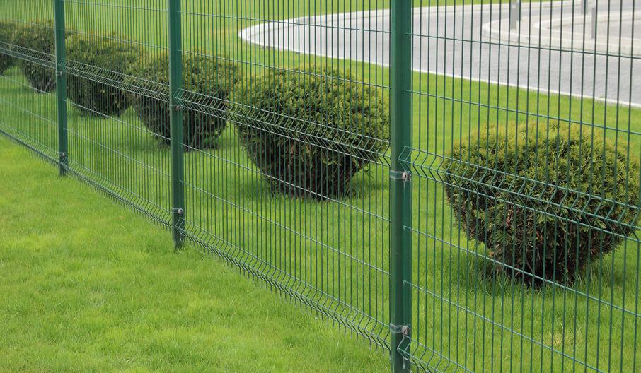 welded mesh fencing metal fence