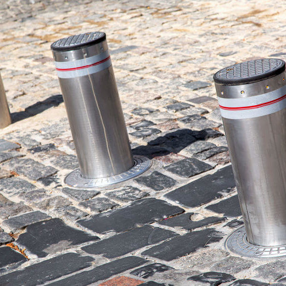 automated security bollards